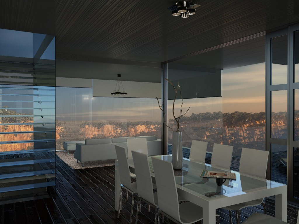 Cliff House – Living